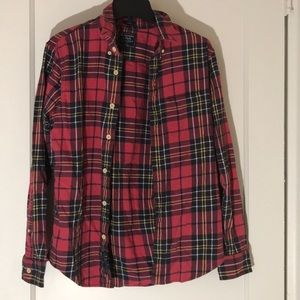 Men's Abercrombie & Fitch plaid flannel